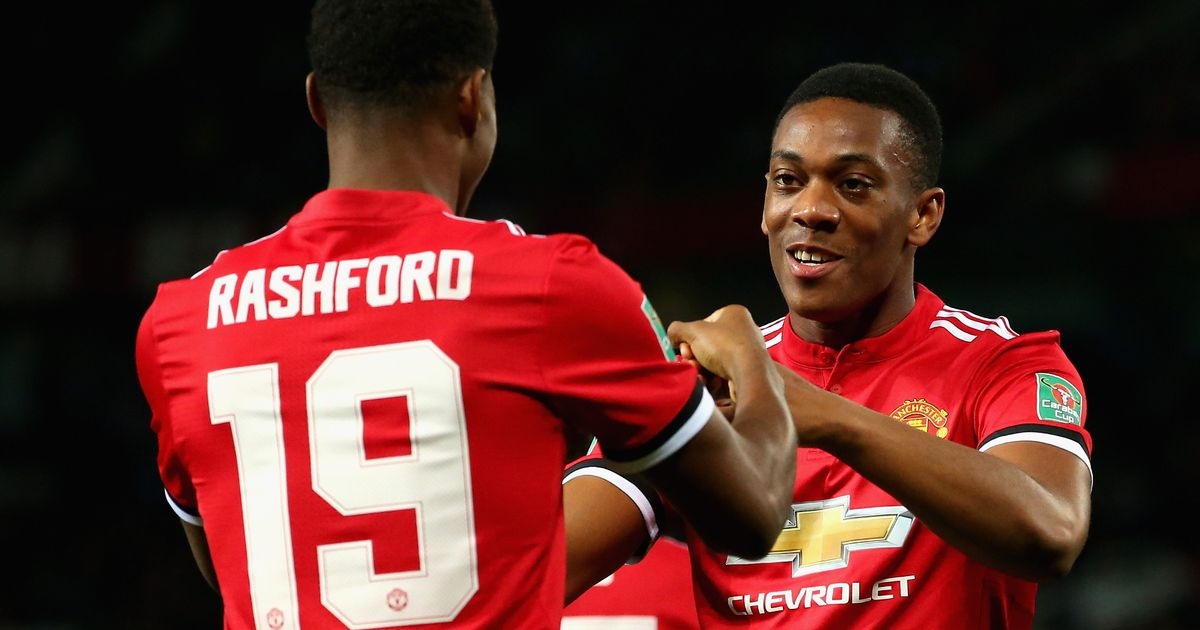 Manchester United player ratings as Anthony Martial and Marcus Rashford shine against Burton