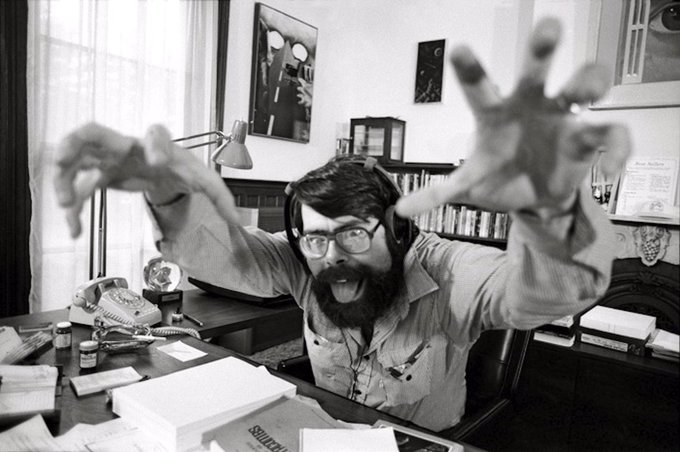 Happy birthday Stephen King! Thankee sai for all you\ve given me!