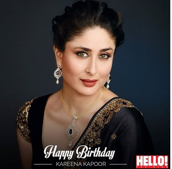 Wishing the beautiful Kareena Kapoor Khan, a very happy birthday!   May this year be the best yet!!