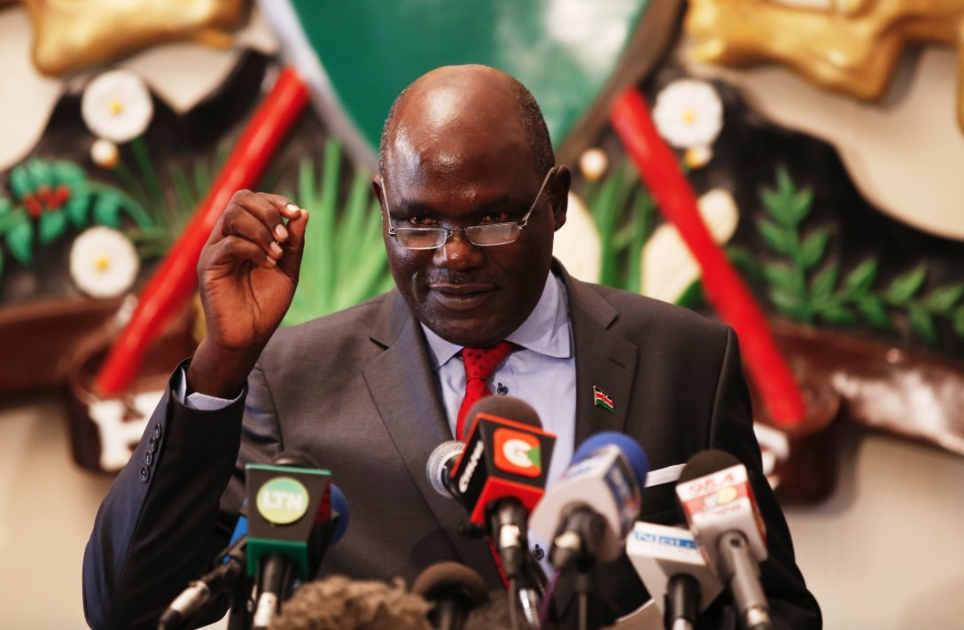 Anxiety at IEBC as Chebukati, commission indicted over poll