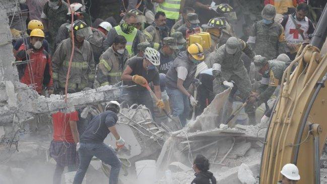 Conoce cómo ayudar desde Chile a México tras el terremoto
