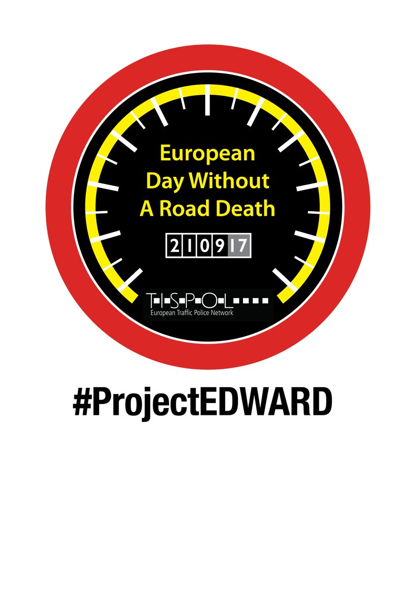It's the #ProjectEDWARD European Day Without A Road Death today. Road...