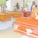 Last respects paid to 13 crash victims