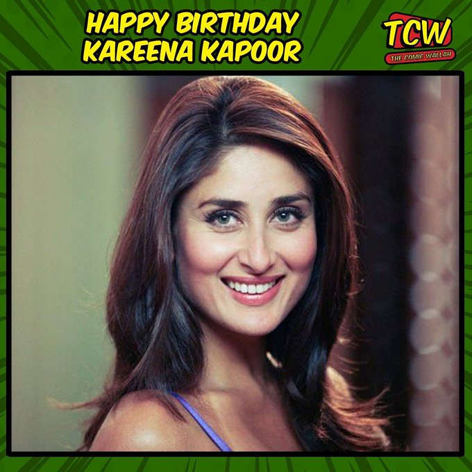 Happy Birthday, Kareena Kapoor.  Which is your favourite Kareena Kapoor movie?