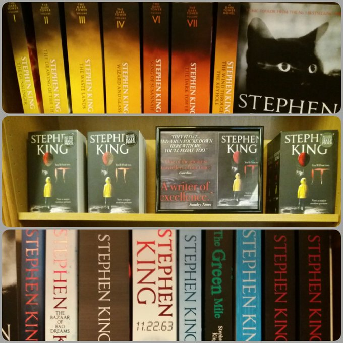 Happy birthday to one and only Stephen King! born 1947