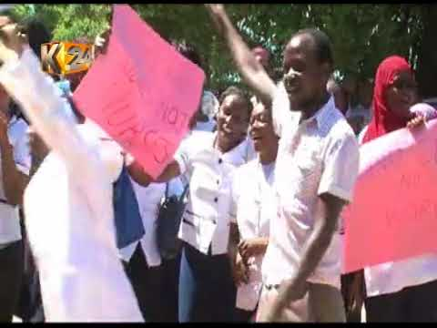 Governor Ann Waiguru directs striking nurses to re-apply for their jobs