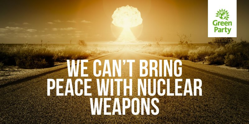 There can be no safe hands for nuclear weapons. It's time to ban them...