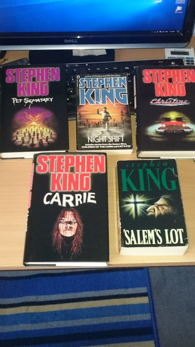 Happy 70th Birthday to Stephen King! my books