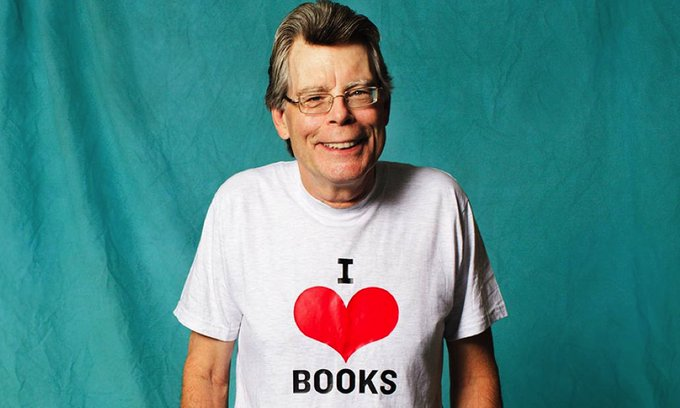 Happy birthday, Stephen King! Let\s celebrate his 70th with 70 great King quotes: