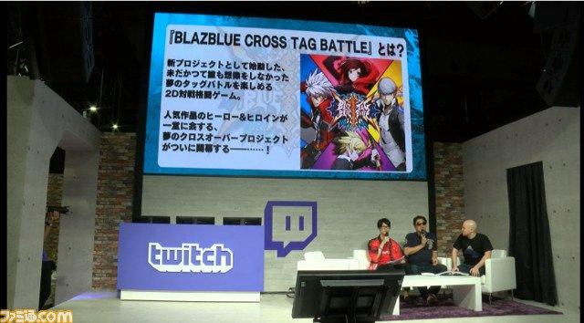 『ブレイブルー クロスタッグバトル』バトルのポイント紹介やプレイアブル出展情報が発表。twitchブースで行われたステー