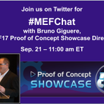Don't miss the #MEFChat today at 11am ET to hear more about our shortlisted @MEF_Forum #POC https://t.co/OpjM3emukE https://t.co/2YI5Uc6KnE
