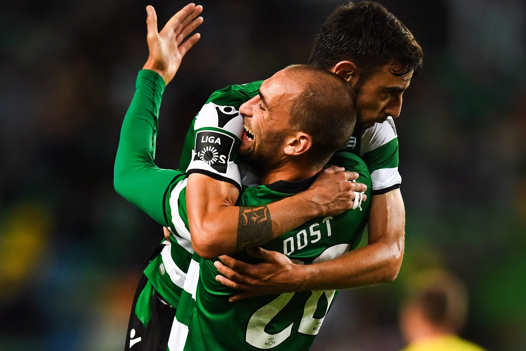 Bruno Fernandes + Bas Dost = ⚽️  Key men for Sporting CP this season? #UCL https://t.co/qfsskUnMKl