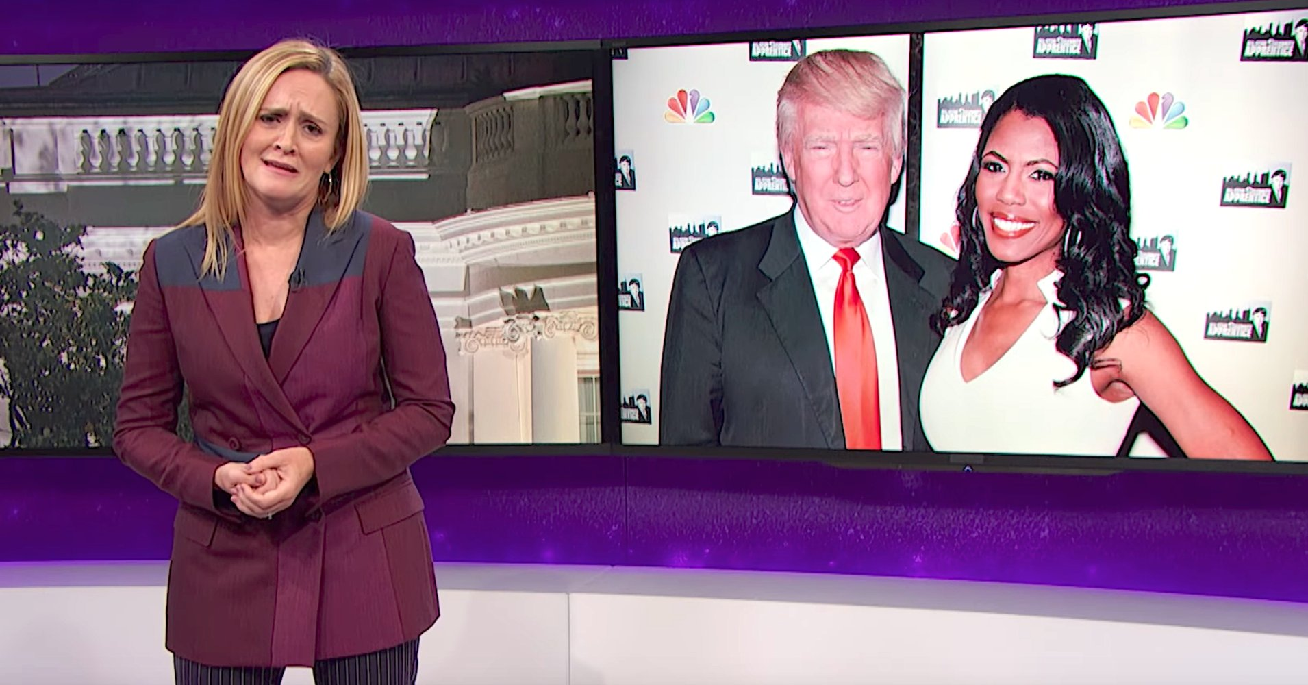 Sam Bee delivers blistering assessment of Trump's 'chaos muppet' Omarosa https://t.co/0SmC8kd0Id https://t.co/CRKT1Pjyyl
