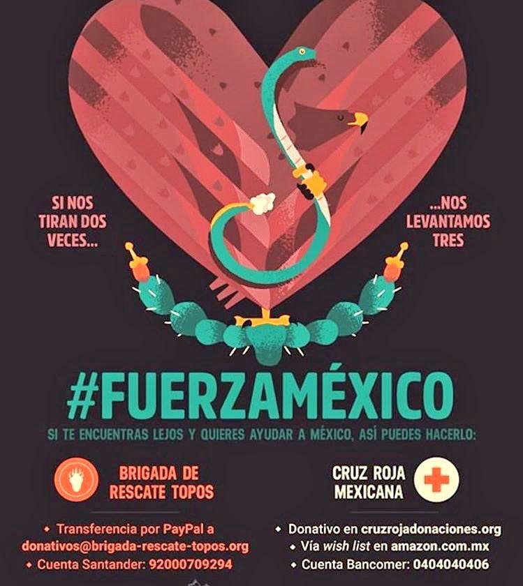 Si te encuentras lejos y quieres ayudar a México, así puedes hacerlo����������#FuerzaMexico #OrandoPorMexico https://t.co/ZiT6jUTx7M