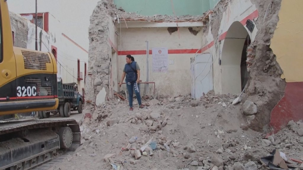 INSIDE THE AMERICAS - Mexico hit by another deadly earthquake