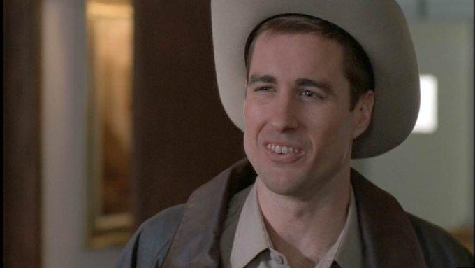 Happy to Luke Wilson who portrayed Sheriff Hartwell in fan favorite episode Bad Blood.