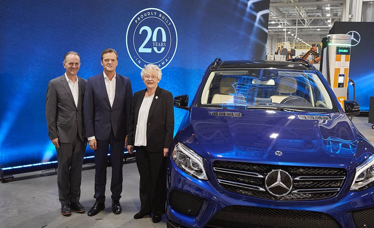 Mercedes-Benz investing $1B in electric SUV production at Tuscaloosa plant, adding 600 jobs