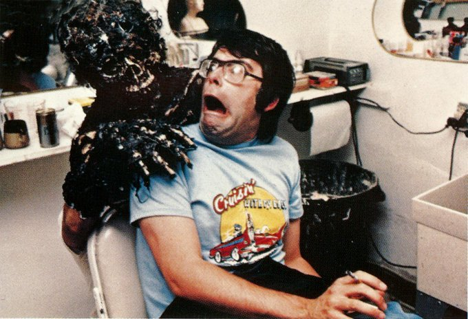 We d like to wish a very happy 70th birthday to master of horror Stephen King!