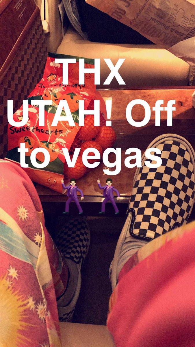 THX UTAH! Off to Vegas for @iHeartFestival!! ???????????????? https://t.co/7LTLvpcsUM