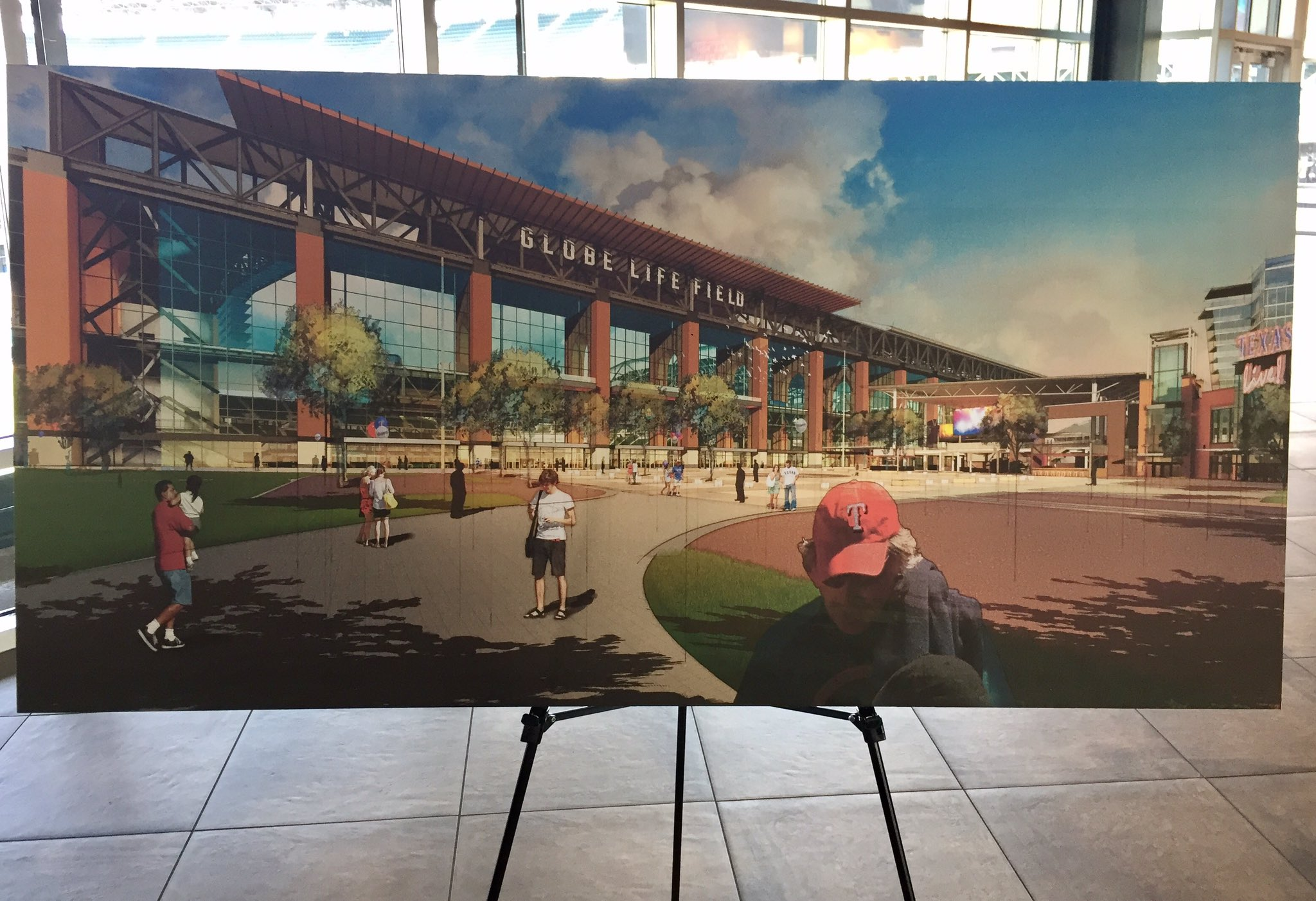 New renderings of the future Globe Life Field for the Texas Rangers in Arlington set to open 2020. https://t.co/wUVezBtS9v