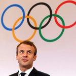 Macron praises IOC for keeping Paris, LA dreams alive