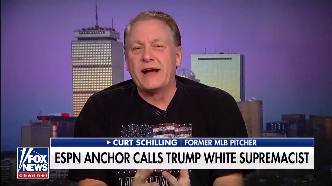 .@gehrig38: 'Some of the most racist people in sports are on [@espn].' https://t.co/Uyt2AKHB5m https://t.co/54DPGHkocT