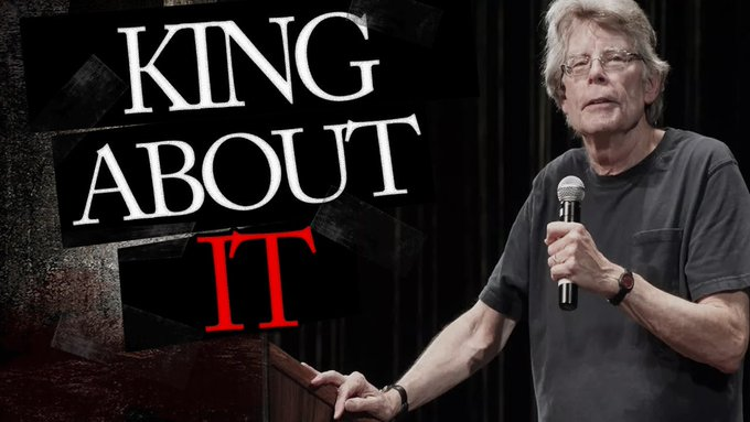 "Happy Birthday Stephen King! Hey friends, what\s your verdict on ""It\""?"