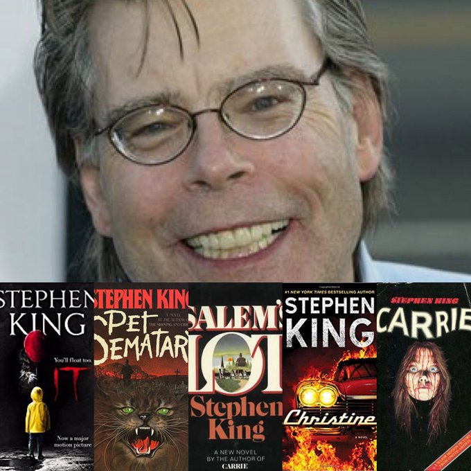 Happy 70th Birthday to Stephen King.