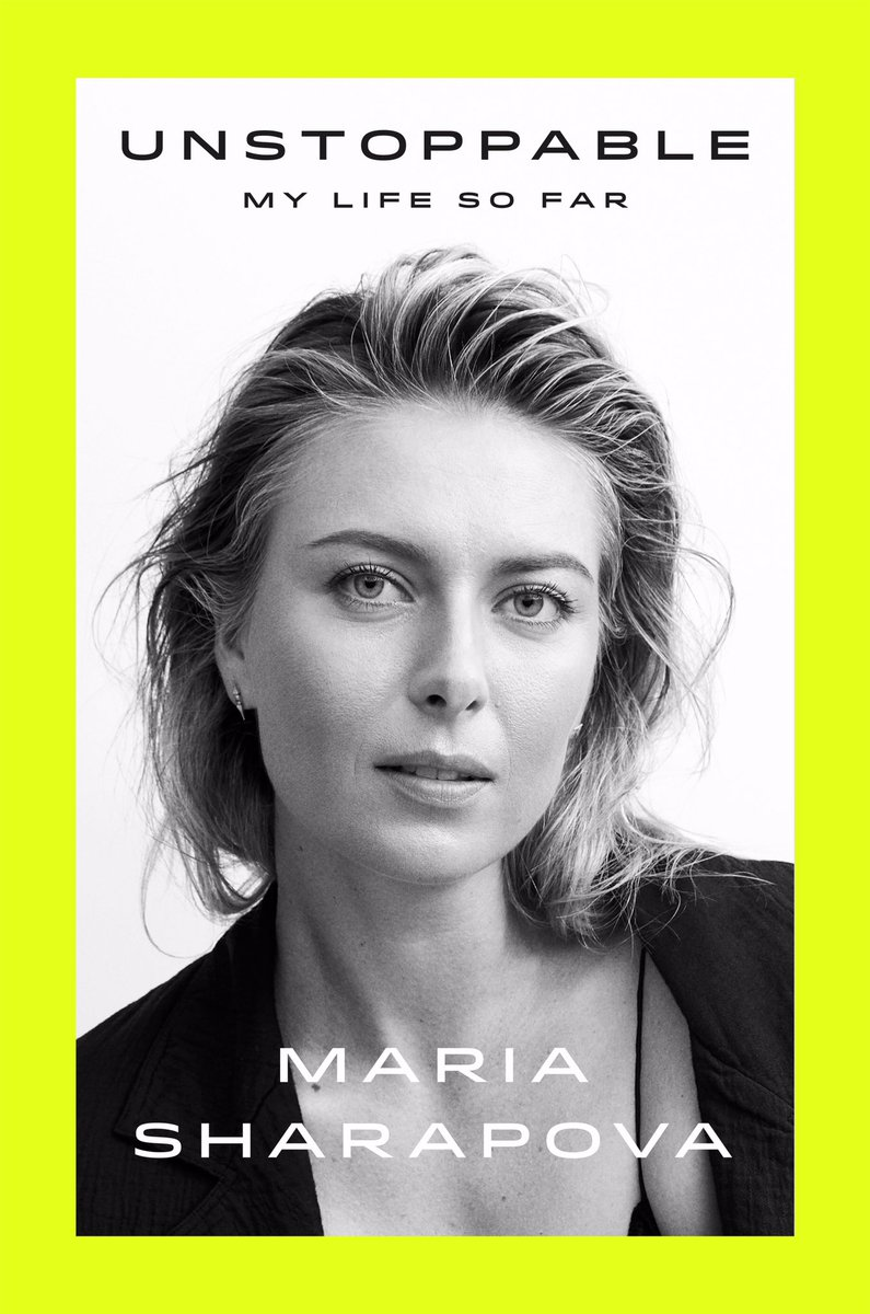 RT @fsgbooks: Congrats to @MariaSharapova's #UNSTOPPABLE which is on the New York Times Bestsellers List!! https://t.co/EhLlzx8kJc