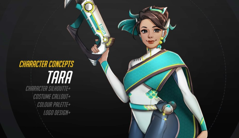 Student's Overwatch concept art is so good, even Blizzard is talking about it: https://t.co/J8sf1diiHE https://t.co/YMtx3Snw6K