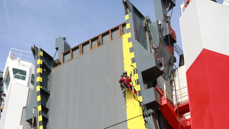 Like pirates for the planet, Greenpeace boards ship to block 'toxic' VW diesels
