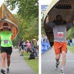 Most Minnesotan race ever: A canoe portaging division in Ely half marathon