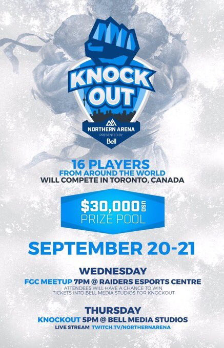 Brackets for is out! Stack tournament for SFV #NAKO htt...