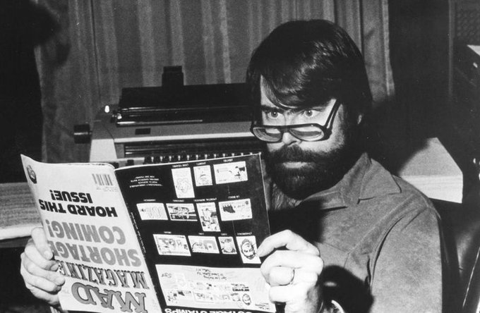 Happy 70th Birthday to Stephen King!