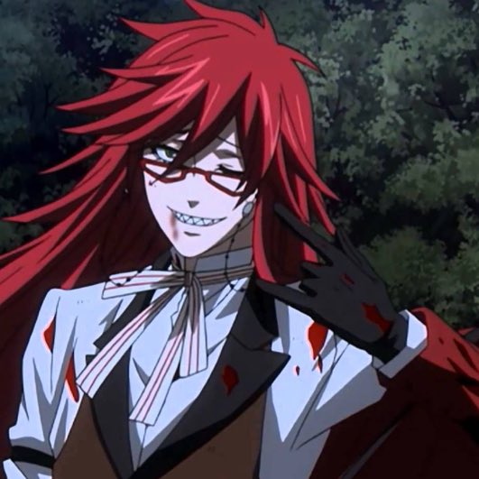 DEATH★  ←これ見てると黒執事のグレルさんを思い出す✨笑(☆´ิ罒´ิ)これでも執事DEATH★