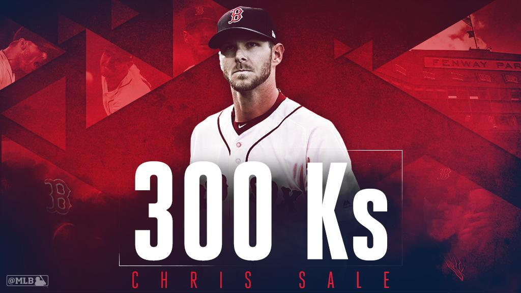 .@RedSox Sale into #postseason as ace joins 300-K club. https://t.co/OyzBLGWVGp https://t.co/CeDgsUBC8b