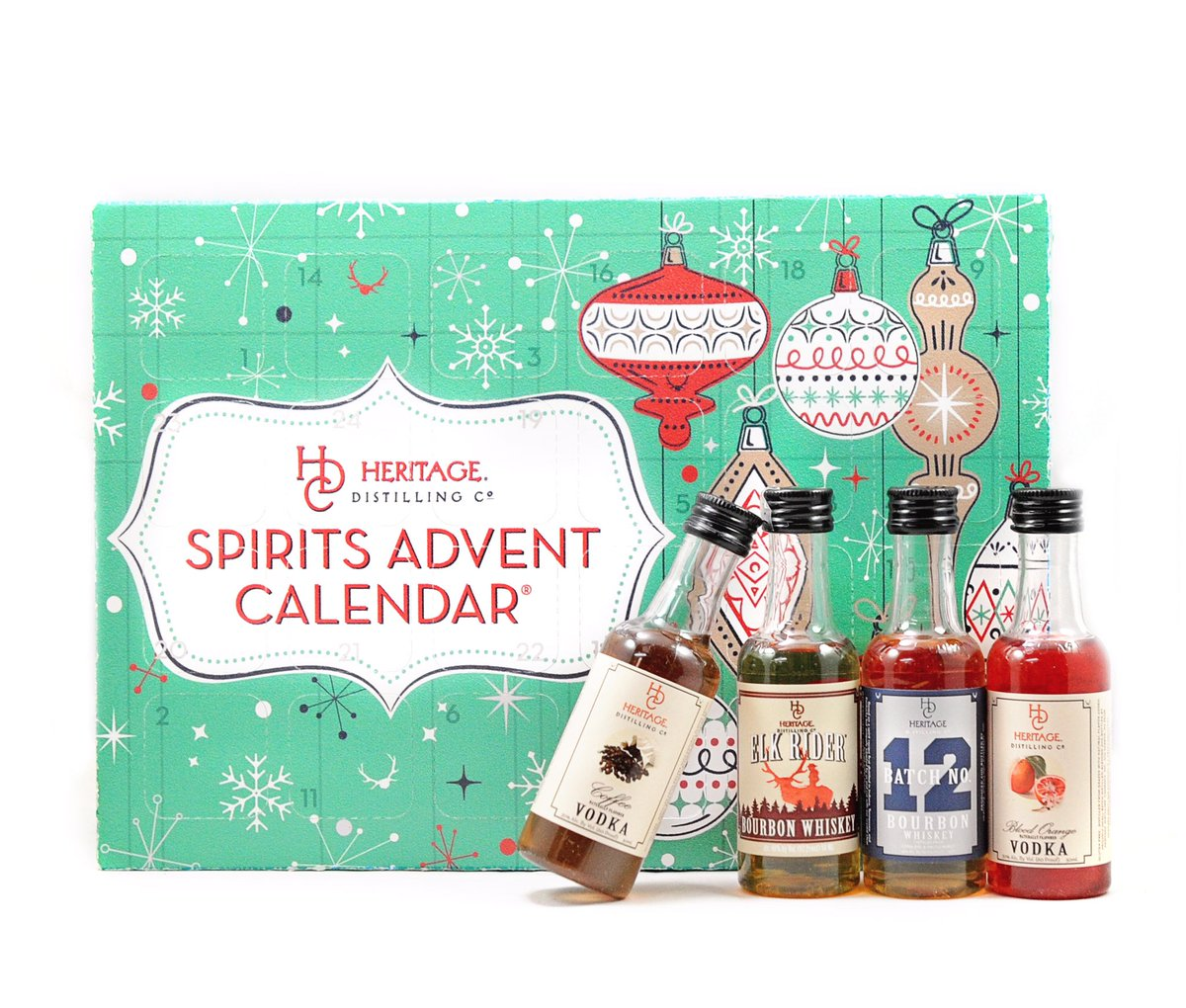 test Twitter Media - The only #SpiritsAdventCalendar featuring all craft spirits made in the U.S. is now available for order online. #HeritageDistilling https://t.co/vx7KWyVA06
