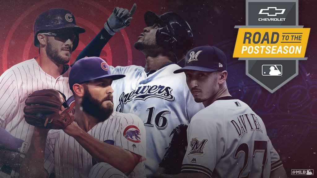 The battle for the NL Central crown heats up in Milwaukee. https://t.co/1heJnGZ0Jc #ChevyBaseball https://t.co/NhgSjivWeq