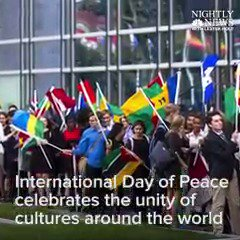 WATCH Today is the International Day of Peace, celebrated around the world since 1981.