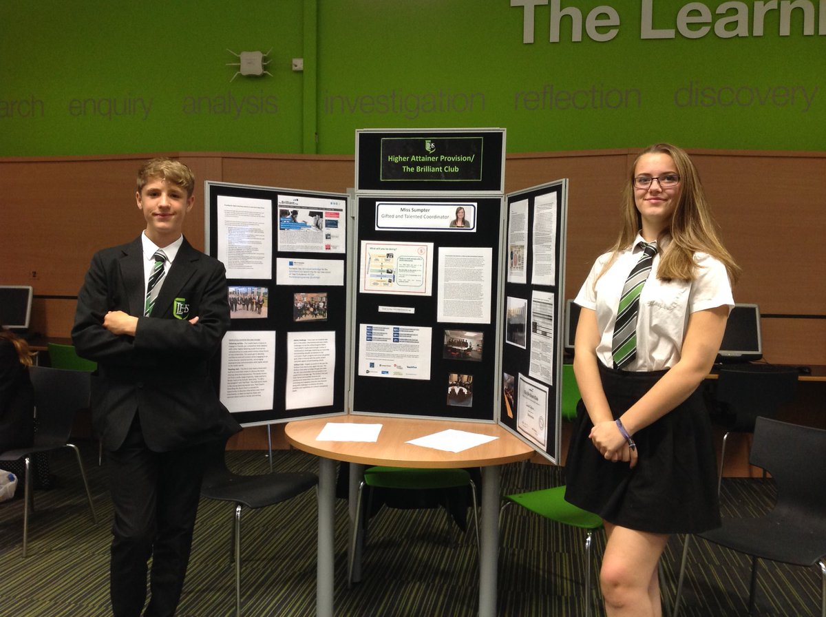 test Twitter Media - Two fantastic students here to talk about the @BrilliantClub project that they did last year @LuttHigh https://t.co/Oab6czFpAz