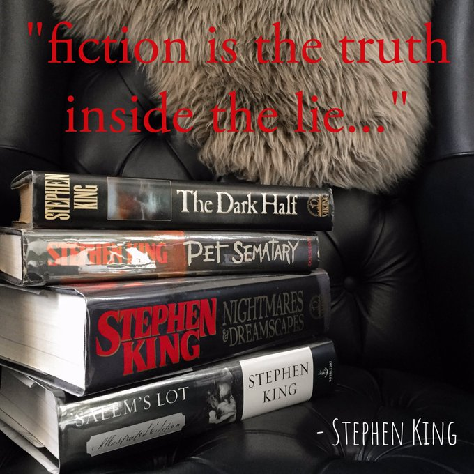 Happy 70th birthday, Stephen King!