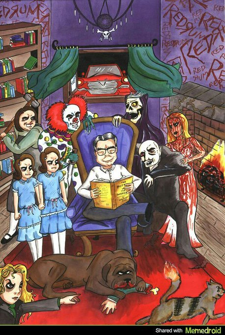 Happy Birthday to the scare-master STEPHEN KING! The master of the macabre was born Sept 21st, 1947