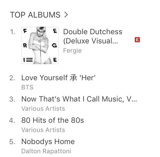 #1 pop album on iTunes New Zealand!!!! yaasss kiwis!! https://t.co/2xCEj7L7bC ???????????????? https://t.co/PTRfQiFAOc
