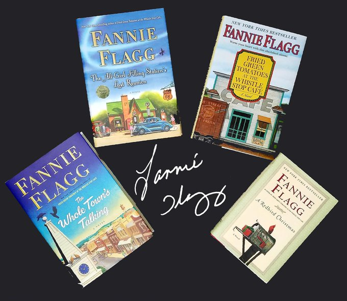 Happy Birthday to Fannie Flagg!