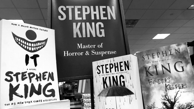 """Master of Horror and Suspense\"" Happy birthday to you, Stephen King!"