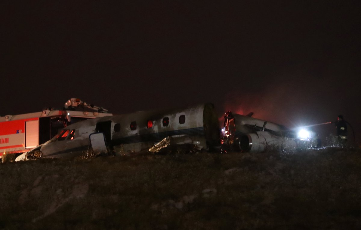 Istanbul's Ataturk airport closed after private jet crashes: Reports