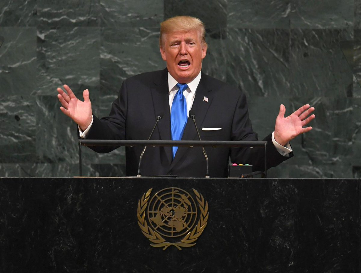 North Korea has compared Donald Trump's U.N. speech to the sound of a barking dog