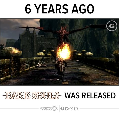 #DarkSouls released 6 years ago! Do you still play? https://t.co/qObudn1XkG