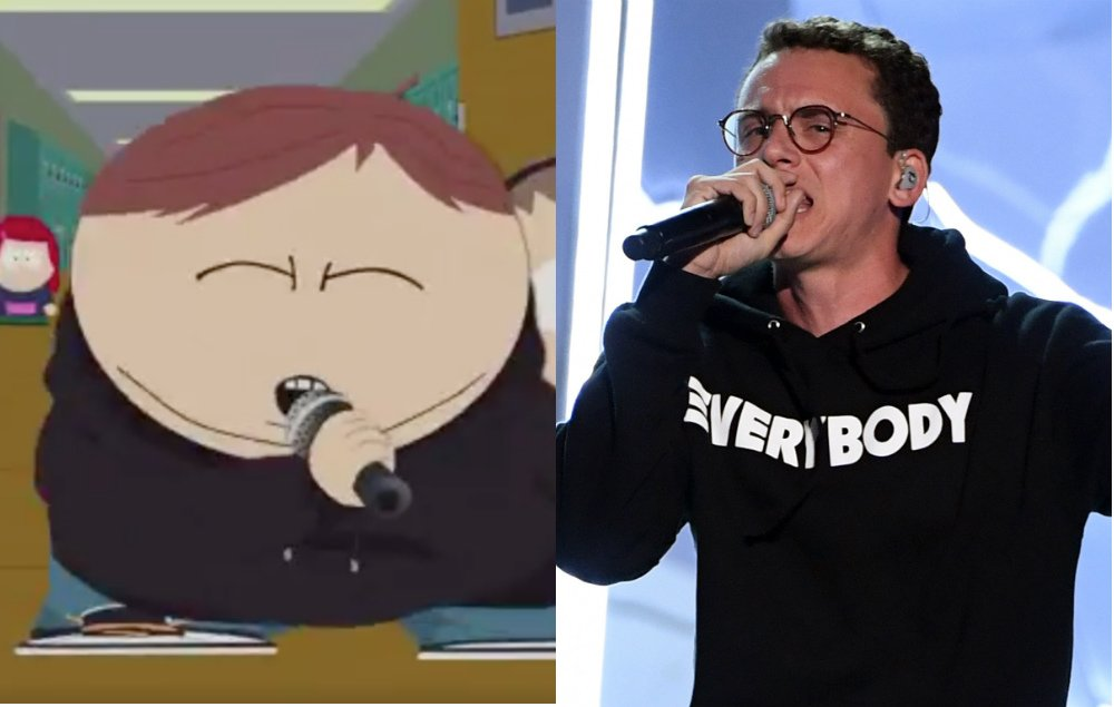 Watch Cartman from @SouthPark parody Logic's '1-800' VMA performance https://t.co/k9o5JTiTWJ https://t.co/jqFOJhYnta