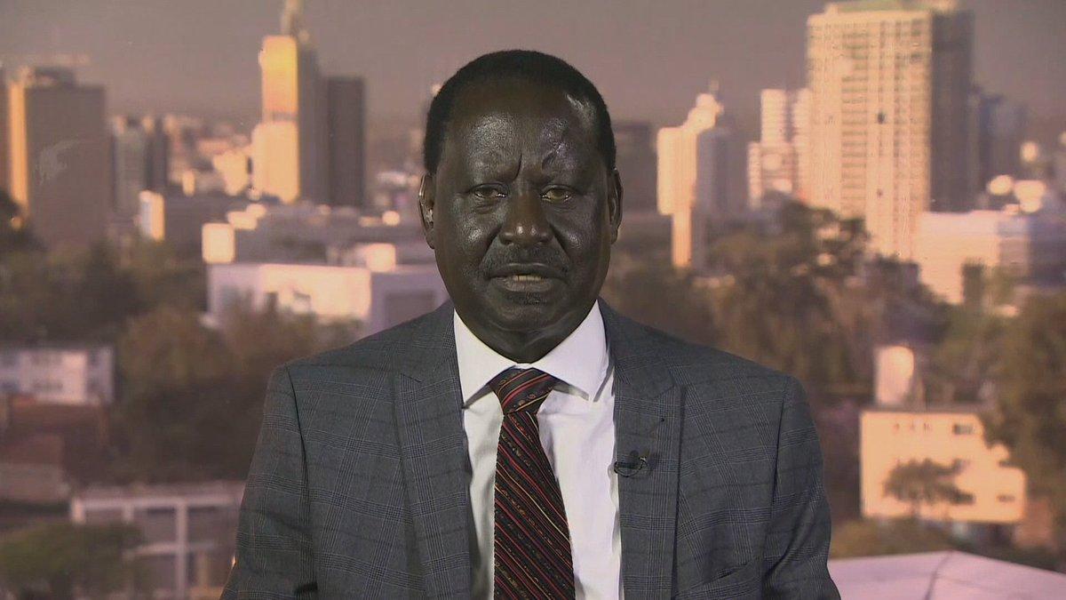 Odinga: Kenya's presidential vote results 'manipulated'